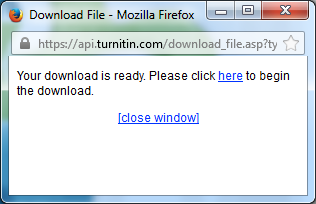 turnitin download zip file