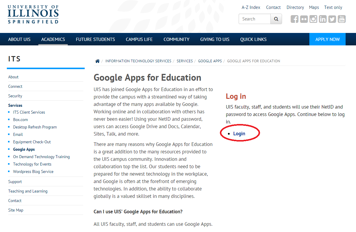 how to create a google site for your online class a presentation