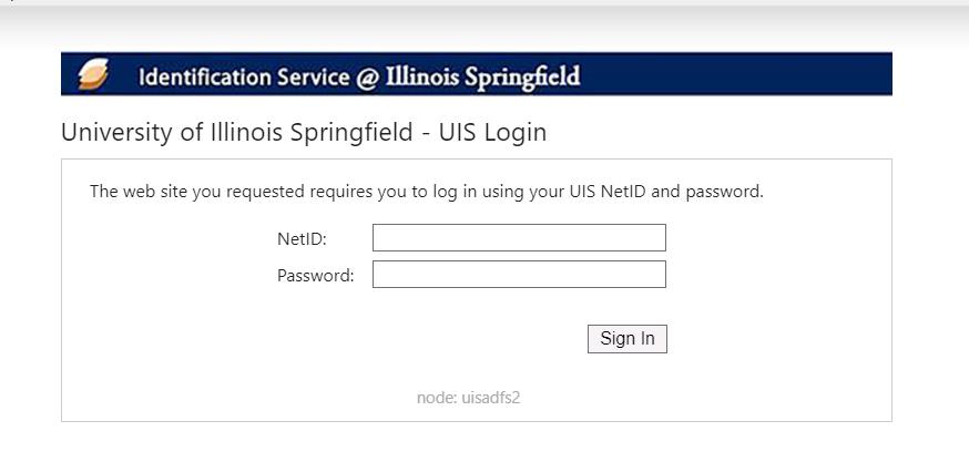 uis netiid authorization screen