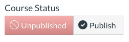 course status in canvas