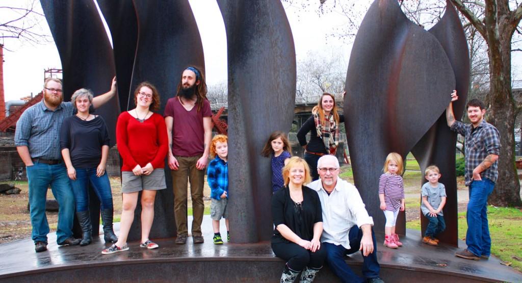 LaNita Cox and her family