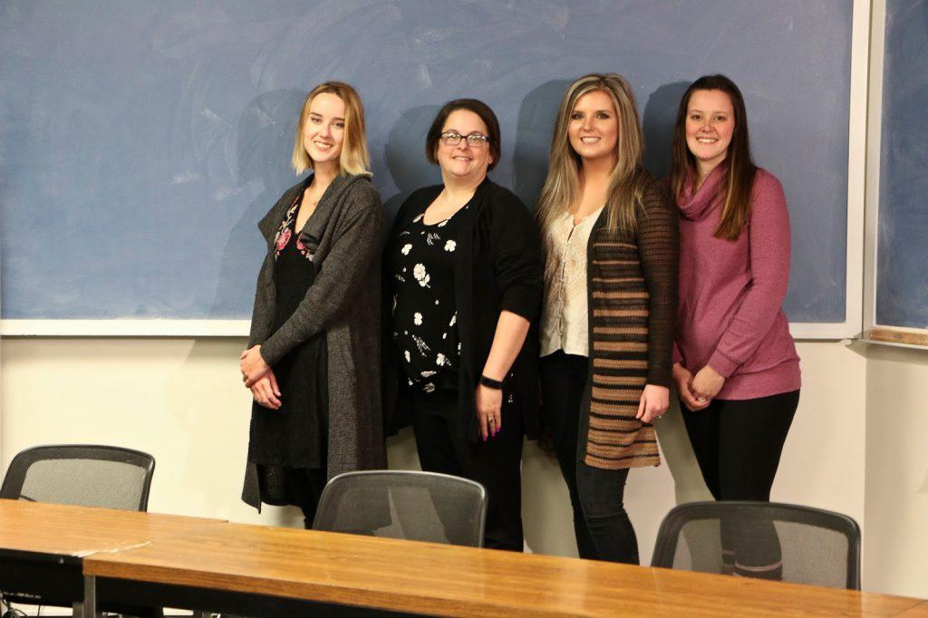 Cassidy Yates, Kelly Mast, Lauren Reichert, and Ashley Brown